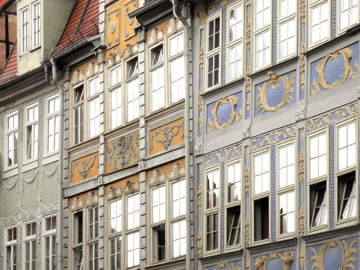 Alte Fassaden in Bad Langensalza