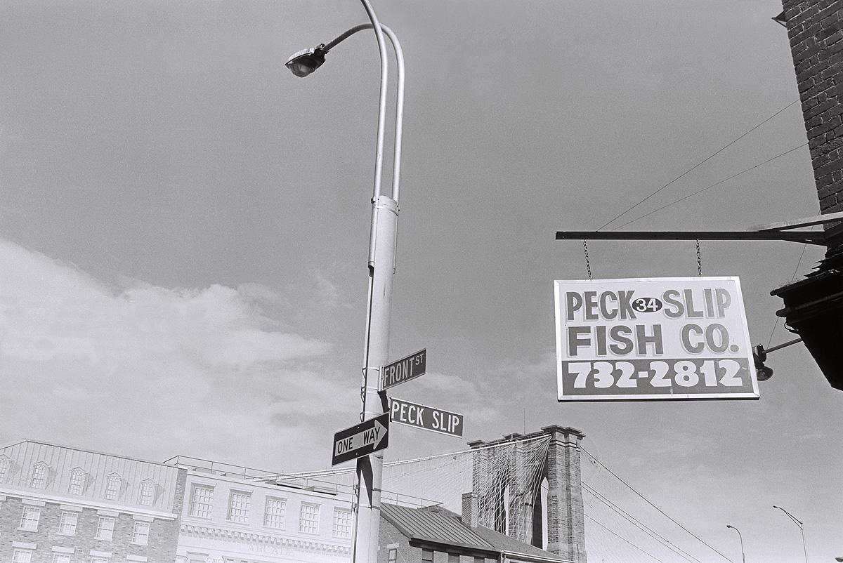 Peck Slip New York