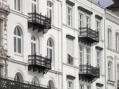 Schwarze Balkone Hamburg