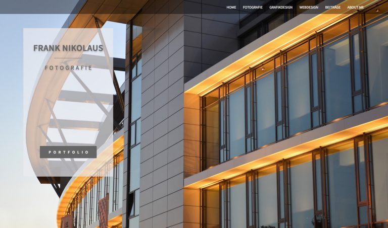 Website Frank Nikolaus